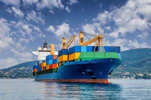 Transport morski towarów - organizacja w transporcie kontenerowym
